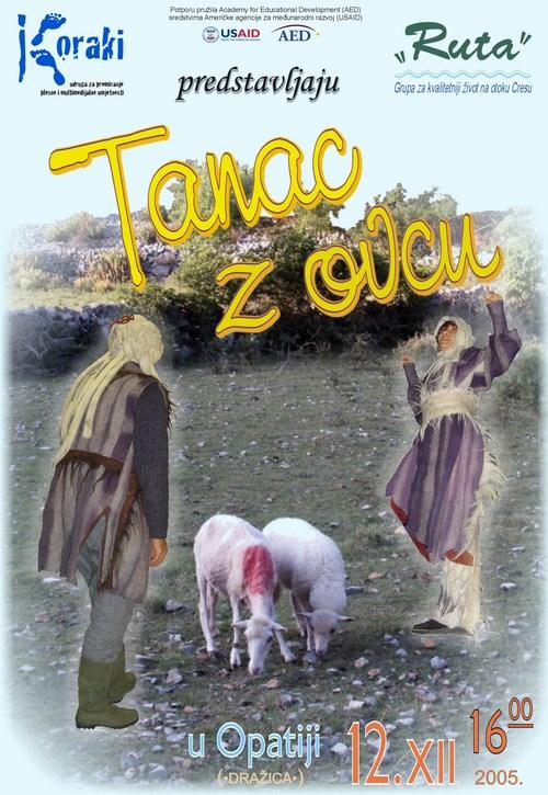 Tanac z ovcun